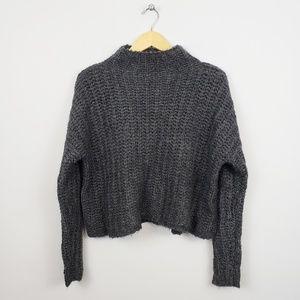 🆕️ Aerie - Wool / Alpaca Blend Mock Neck Sweater